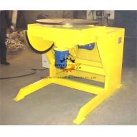 Quality Yellow Pipe Welding Rotators Positioners , Welding Rotary Table With Multiple Indexer for sale