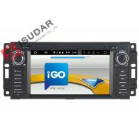Buy 6.2 Inch Car Dvd Player GPS Navigation , Android Auto Head Unit For JEEP / Chrysler / Dodge at wholesale prices