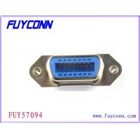 Quality 36 Pin Centronic Straight Angle Champ Receptacle Female PCB Connector with board lock for sale
