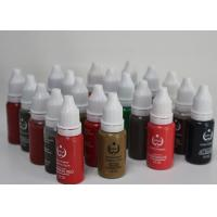 Quality 3D Nature Eyebrow Permanent Makeup Tattoo Ink Pigment Embroidery Art Inks for sale