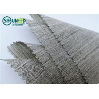 Quality Soft Woven Wool Light Hair Bow Interlining Canvas Fabric For Garment Overcoat for sale