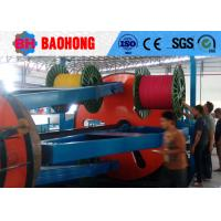 Quality Cradle Type Cable Laying Machine 1600 Drum Twisting Machine Power Saving for sale