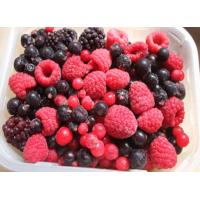 Quality High Grade IQF Frozen Fruit , Individually Fresh Frozen Mixed Fresh Berries for sale