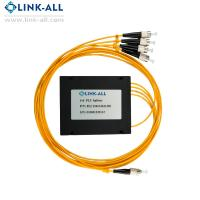 Quality Hot model 1x4 ABS Box Type PLC Splitter with FC/UPC connector for sale