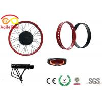 Buy 500W Hub Wheel Fat Tire Electric Bike Conversion Kit With Star One Type Battery at wholesale prices