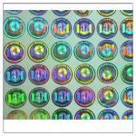 Quality Custom print Anti-fake authentic adhesive hologram label ,secure genuine hologram sticker label for sale