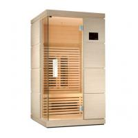 Quality Ceramic Single Person Infrared Sauna Room 110v / 220v, Touch Control Panel for sale