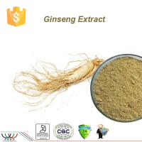 Quality Ginseng Root Powder , Organic Ginseng Extract Anti - Aging Ingredients Boost Immunity for sale