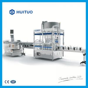 Quality Semi automatic hair conditioner and shampoo capping machine factory price from Huituo for sale