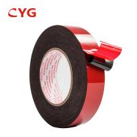 Quality Thermal Insulation Waterproof Recycled Foam Tape Closed Cell Adhesive Sticker for sale