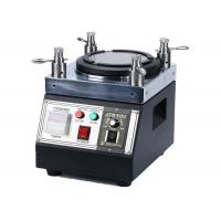 Quality Easy Handle Fiber Optic Polishing Machine , Four Cornered Industrial Grinding Machine for sale