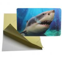 Quality cheap price 3d lenticular sticker pp pet flip effect lenticular sticker printing with the adhesive on the backside for sale