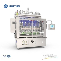 Quality Electric Driven 2.5KW Liquid Detergent Filling Machine for sale