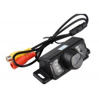 Quality HD Night Vision License Plate LED Rear View Camera For Car / Waterproof for sale