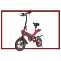 Quality Small Foldable Electric Bicycle , 36V 350W Folding E Bike Energy Saving for sale