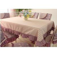 rectangle tablecloths and quilted stitch chair covers