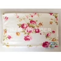 Quality 30 x 30cm Printed Microfiber Cleaning Cloth With Flower , 20% Polyamide for sale