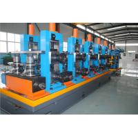Galvanized Steel Tube Mill Machine 5mm Thickness Pipe With Innovative Design
