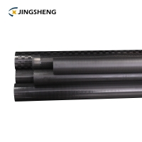Quality Square Hollow ISO9001 OEM Carbon Fiber Tube for sale