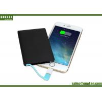 Quality Ultra Thin Credit Card Ultra Slim Power Bank 2500mAh Name Card for Promotion Gifts for sale