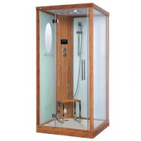 Quality Eco-Friendly Bamboo Steam Shower Room Square With  Fm / CD / Mp3 Input for sale