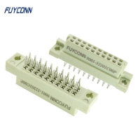 Quality 5 10 15 Press Pin 2*10P 20pin 2rows European DIN41612 Connector for sale