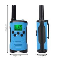 Quality Best price long range battery alert uhf two way radios clear talk outdoor game walkie talkie for children with giftbox for sale