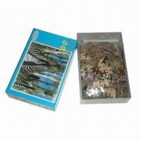 Buy cheap Paper Puzzles, OEM Orders are Welcome, Available in Various Designs from wholesalers