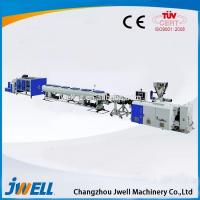 China Jwell PE/ PP/PVC high speed high capacity plastic pipe extrusion machine on sale