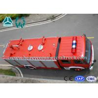 5 Tons Strong Power 4X2 Diesel Fire Fighting Truck 336 Hp Dongfeng Chassis