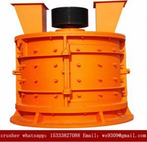 Vertical Hammer Mining Rock Crusher / Secondary Crushing Equipment