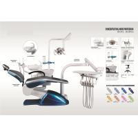 Buy Dental Treatment Dental Chair Unit With Turnable Glass Cuspidor NV-D368 at wholesale prices