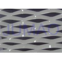 Quality Electric Galvanized Aluminum Expanded Metal , White Metal Sheet With Holes for sale