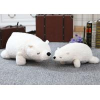Quality Stuffed Animal Plush Toys 70cm Size 0.8kg Pure White Teddy Bear Soft Toy for sale