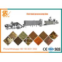 China Floating And Sinking Fish Feed Pellet Machine / Fish Food Processing Machine on sale
