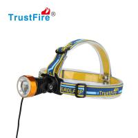 2016 Trustfire new design 3868-H6 cree xml t6 led bicycle helmet light 400lm rechargeable cree led headlamp