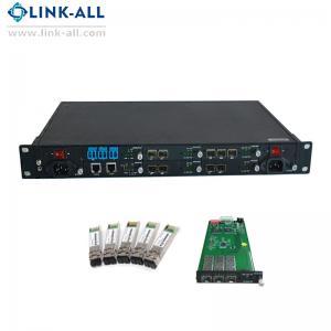 Quality UC6100-1U Carrier-Grade, Managed Type Multiple Protocol Ethernet-to-Fiber Media Converters for sale