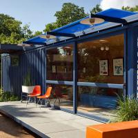 China Modern Design Modular 40ft Shipping Container house with Toilet and kitchen on sale
