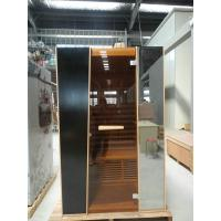 Quality Home 2 Person Infrared Sauna Room 110v / 220v With Vedio Player for sale