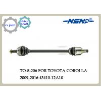 Quality Toyota COROLLA Auto Drive Shaft 43410-12A10 Rubber And Steel Material for sale