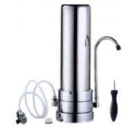 Quality Bacteria Removal Stainless Steel Gravity Water Filter / Purifier , Perfect Steel Water Filter 5-  38°C Range for sale