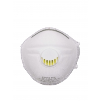 Quality White Particle Filtering CE FFP3 EN149 Dust Mask Respirator for sale