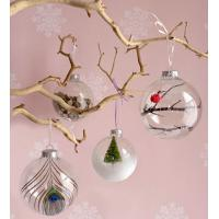 Quality Christmas Tree Decoration Glass Hanging Ornament Glass Fish for sale