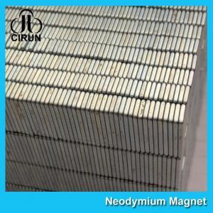 Square Industrial Neodymium Magnets Bar Block N54 Grade High Strength