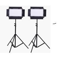 Quality High Output Plastic LED Studio Lighting Kit with V Mount LCD Touch Screen for sale