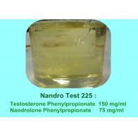 Quality Powerful Semi-Finished Blend Anabolic Steroid Oil Nandro Test 225 mg/ml for sale