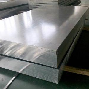 Quality H116 / H321 Temper Marine Grade Aluminium Plate 800 - 2800mm Width Flat Clean Surface for sale