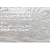 China Wood hot stamping foil for MDF on sale