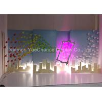 Quality Multi Color Hanging Style Resin Magic Mirror Statues Hand Carved Technics for sale