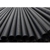 Quality Black ISO4427 PE100 PE 80 hdpe pipe for water supply, drainage, sand dredging for sale